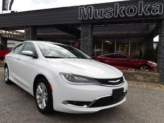 Used 2015 Chrysler 200 Limited for sale in Bracebridge, ON