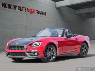 Used 2017 Fiat 124 Spider Abarth Scorpion Spec*Perf Exhaust*Turbo Valve*Bose for sale in Mississauga, ON