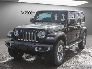 Used 2020 Jeep Wrangler Unlimited Sahara for sale in Mississauga, ON