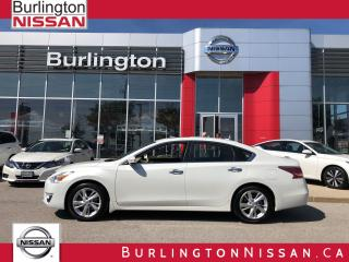Used 2015 Nissan Altima 2.5 SL, ACCIDENT FREE, 1 ONR ! EXTENDED WARRANTY ! for sale in Burlington, ON