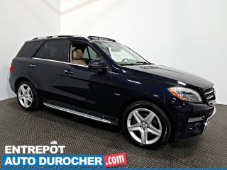 Used 2012 Mercedes-Benz ML-Class ML 350 BlueTEC AWD NAVIGATION - Toit Ouvrant - A/C for sale in Laval, QC