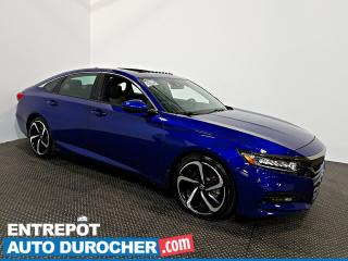 Used 2019 Honda Accord Sedan Sport TOIT OUVRANT - Automatique - A/C - Semi Cuir for sale in Laval, QC