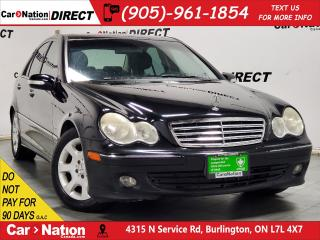 Used 2005 Mercedes-Benz C-Class C320 4MATIC  AS-TRADED  SUNROOF  LEATHER  for sale in Burlington, ON
