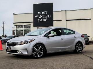 Used 2017 Kia Forte SX|NAVIGATION|LEATHER|CAMERA|BLIND for sale in Kitchener, ON