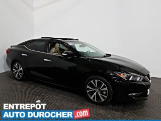 Used 2016 Nissan Maxima Platinium NAVIGATION - Toit Ouvrant - A/C - Cuir for sale in Laval, QC