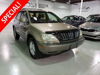 Used 2002 Lexus RX 300 4dr SUV w-Sport Pkg - Financing Available** for sale in Concord, ON