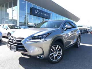 Used 2017 Lexus NX 200t 6A LUX PKG, Certified, NO Accidents, Local for sale in North Vancouver, BC