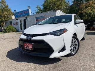 Used 2018 Toyota Corolla LANE ASSIST| BACKUP CAM| ACCIDENT FREE| LOW KM| for sale in Brampton, ON