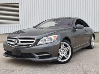 Used 2012 Mercedes-Benz CL550 CL550 4MATIC|AMG PKG|ACCIDENT FREE|DISTRONIC for sale in Mississauga, ON