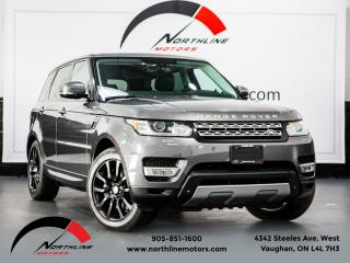 Used 2014 Land Rover Range Rover Sport Supercharged V8|Navigation|Pano Roof|Soft Close Door|Vented for sale in Vaughan, ON