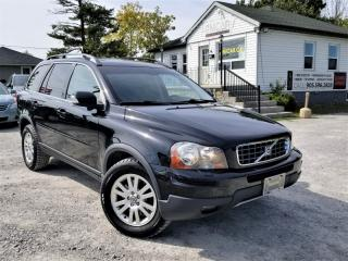 Used 2009 Volvo XC90 AWD L6 7 Seat Sunroof Blind spot detection Power Leather DVD for sale in Sutton, ON