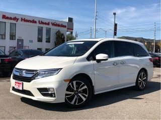 Used 2018 Honda Odyssey Touring - Navigation - Leather - Wireless Charging for sale in Mississauga, ON