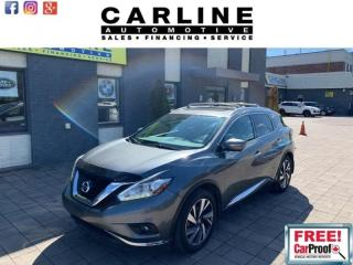 Used 2015 Nissan Murano AWD 4DR for sale in Nobleton, ON