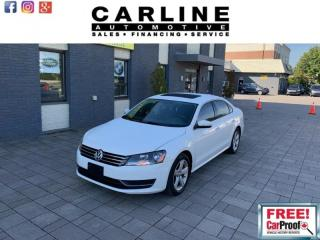 Used 2015 Volkswagen Passat 4dr Sdn 1.8 TSI Comfortline for sale in Nobleton, ON