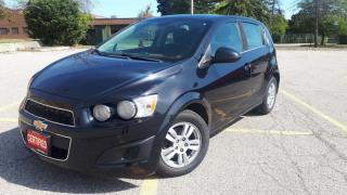 Used 2013 Chevrolet Sonic 5dr HB LT Auto for sale in Mississauga, ON