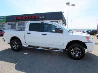 Used 2011 Nissan Titan PRO-4X Crew Cab 4WD Certified for sale in Milton, ON