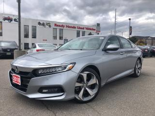Used 2018 Honda Accord Sedan Touring - Leather - Navigation - Sunroof for sale in Mississauga, ON