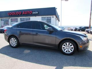 Used 2011 Chevrolet Cruze 1LT Certified Automatic for sale in Milton, ON