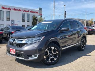 Used 2017 Honda CR-V Touring - Navigation - Leather - Panoramic Roof for sale in Mississauga, ON