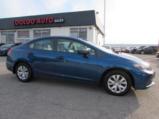 Used 2014 Honda Civic DX Sedan 5-Speed SUPER CLEAN for sale in Milton, ON
