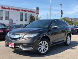 Used 2016 Acura RDX Tech Pkg - Leather - Sunroof -  Navigation for sale in Mississauga, ON