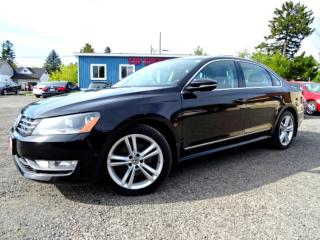 Used 2012 Volkswagen Passat Highline TDI DSG Sunroof Bluetooth Leather Certified for sale in Guelph, ON