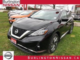 New 2019 Nissan Murano SL for sale in Burlington, ON