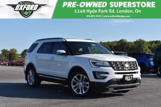Used 2017 Ford Explorer Limited - Immaculate Inside & Out, Trailer Hitch, for sale in London, ON