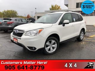 Used 2016 Subaru Forester 2.5i Convenience  AWD B/U CAM HS BT for sale in St. Catharines, ON