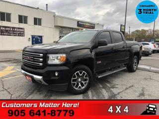 Used 2017 GMC Canyon SLE  4X4 ALL-TERRAIN HS CAM BT LINER 17