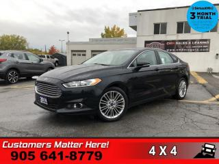 Used 2014 Ford Fusion SE  LEATH ROOF CAM P/SEAT W/MEM HS for sale in St. Catharines, ON