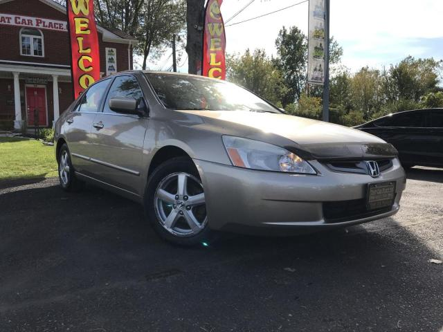 2004 Honda Accord EX-L Alloys-Power Moonroof-Leather-Heated Front Seats-Power Seats-Power Windows