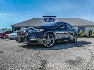 Used 2017 Ford Fusion V6 Sport- ADAPTIVE CRUISE- NAVIGATION- SUNROOF- LOADED for sale in Essex, ON