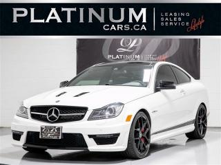 Used 2015 Mercedes-Benz C63 AMG,EDITION 507,NAVI,CAM,PANO,HEATED LTH, for sale in Toronto, ON