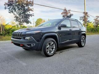 Used 2015 Jeep Cherokee Trailhawk 4 portes 4 roues motrices for sale in St-Eustache, QC