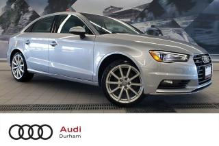 Used 2015 Audi A3 2.0T Progressiv + Pano Roof | Heated Seats | AWD for sale in Whitby, ON