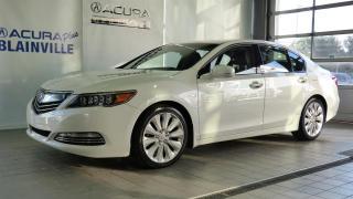 Used 2017 Acura RLX Sport Hybrid ** ÉLITE ** for sale in Blainville, QC