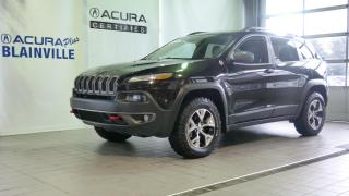 Used 2016 Jeep Cherokee Trailhawk 4X4 for sale in Blainville, QC