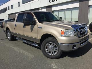 Used 2008 Ford F-150 XLT 4X4 SUPER CREW JAMAIS ACCIDENTÉ-- for sale in Ste-Marie, QC