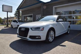 Used 2016 Audi A4 *** KOMFORT PLUS, TOIT OUVRANT !!! *** for sale in Rawdon, QC