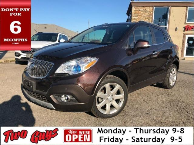 2015 Buick Encore Premium | 2 Tone Leather | Sunroof | Navigation|