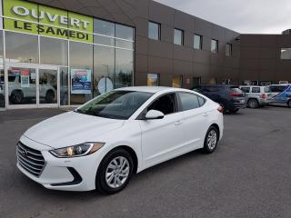 Used 2017 Hyundai Elantra LE, a/c, bluetooth, banc chauffant for sale in Chambly, QC