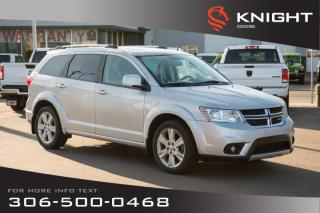 Used 2011 Dodge Journey R/T | Leather | Heated Seats | Remote Start | for sale in Swift Current, SK