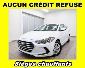 Used 2018 Hyundai Elantra SIÈGES CHAUFFANTS *BAS KILOMÉTRAGE* for sale in St-Jérôme, QC