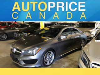 Used 2016 Mercedes-Benz CLA-Class NAVIGATION|LEATHER|AWD for sale in Mississauga, ON