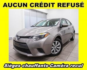Used 2015 Toyota Corolla LE *SIEGES CHAUF* CAMERA RECUL *PROMO for sale in St-Jérôme, QC