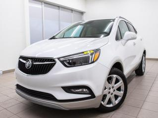 Used 2018 Buick Encore ESSENCE AWD NAVIGATION CUIR TOIT OUVRANT *BAS KM* for sale in St-Jérôme, QC