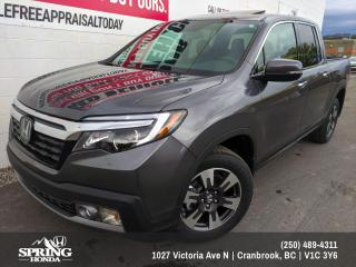 Used 2019 Honda Ridgeline Touring $322 BI-WEEKLY - $0 DOWN for sale in Cranbrook, BC