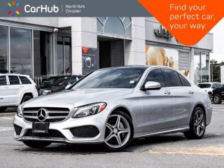 Used 2017 Mercedes-Benz C-Class C 300 AMG Styling Panoramic Sunroof Navigation Backup Camera for sale in Thornhill, ON