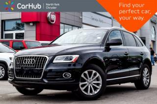 Used 2016 Audi Q5 2.0T Progressiv Nav|PanoSunroof|BackUpCam|MemoSeats|SiriusXM|KeylessGo for sale in Thornhill, ON